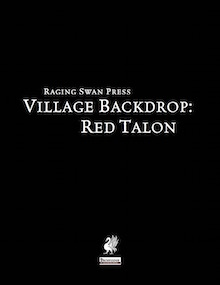 Village Backdrop: Red Talon